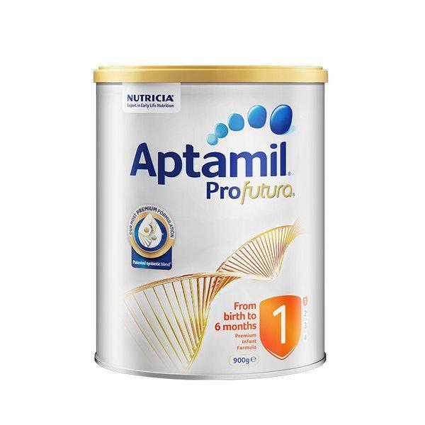 【澳洲直邮】澳洲爱他美白金版婴儿配方奶粉1段900g(新老包装随机发货) 3罐