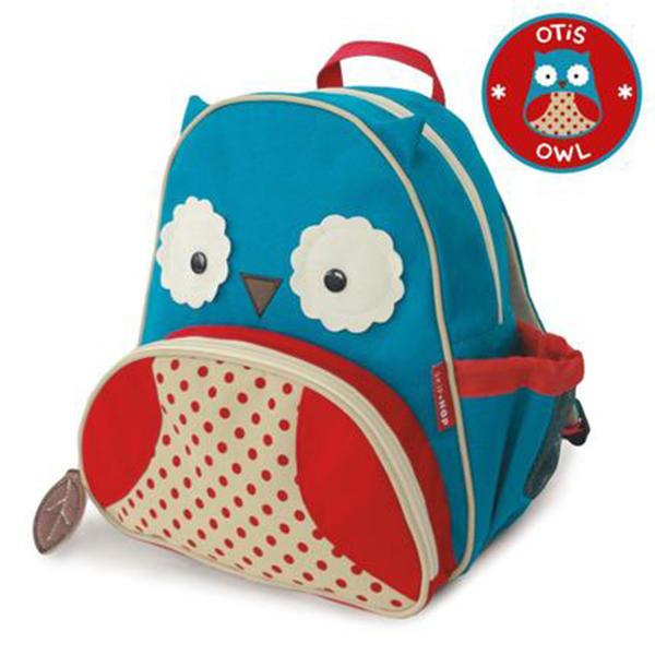 美国SKIP HOP动物可爱卡通儿童书包幼儿园男女童双肩背包3-6岁 猫头鹰
