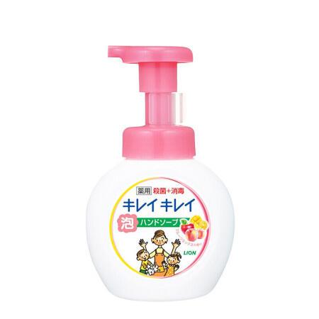 日本 狮王(Lion)儿童用全植物泡沫洗手液250ml 果香
