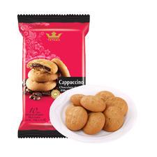 TATAWA卡布奇诺巧克力软馅曲奇饼干120g