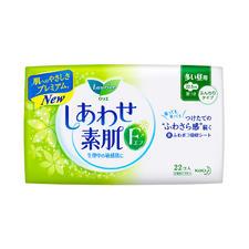 花王乐而雅F系列绵柔舒适22片22.5cm日用