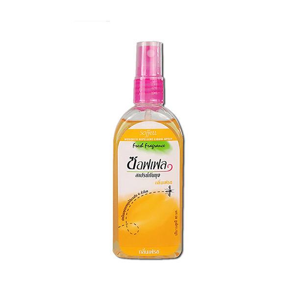 【2瓶装】泰国Soffell驱蚊水80g*2瓶(橘子味)