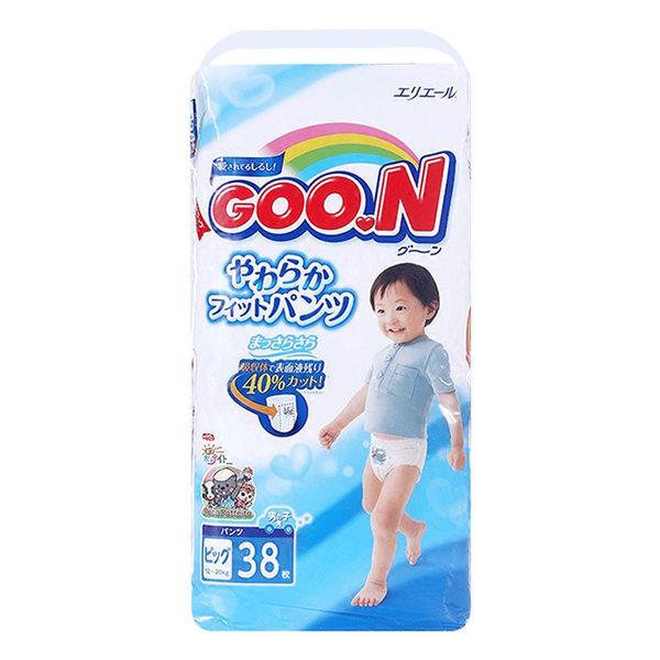 日本GOO.N大王纸尿裤 XL38 男宝