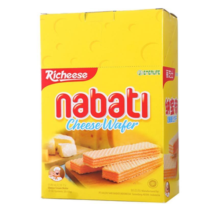 印度尼西亚 丽芝士纳宝帝奶酪威化饼200g