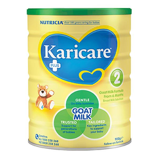 【2罐装】新西兰原装可瑞康羊奶粉2段900g*2罐