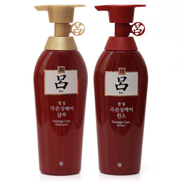 韩国爱茉莉红吕洗护套装1洗1护400ml+400ml