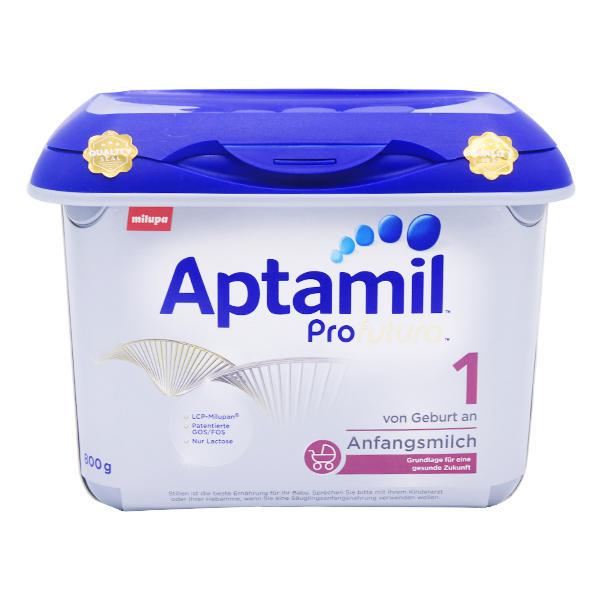 【2罐装】德国Aptamil爱他美白金版奶粉1段800g*2罐(新老包装随机发货)