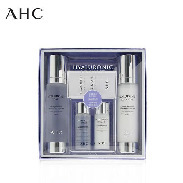 韩国A.H.C 玻尿酸神仙水水乳组合