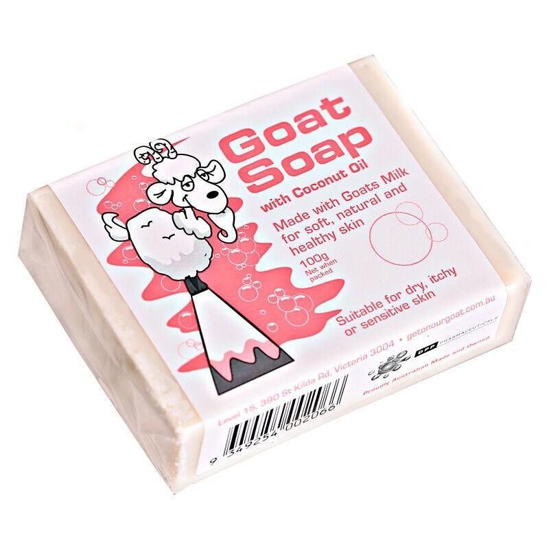 GoatSoap椰子油羊奶皂 椰子味