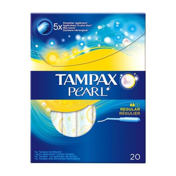英国Tampax Pearl丹碧丝珍珠长导管卫生棉条20支