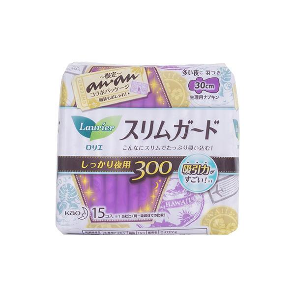 日本花王卫生巾S系列夜用30cm15片
