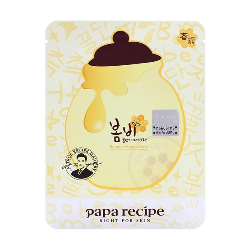 韩国papa recipe黄色春雨蜂蜜面膜贴10片/盒