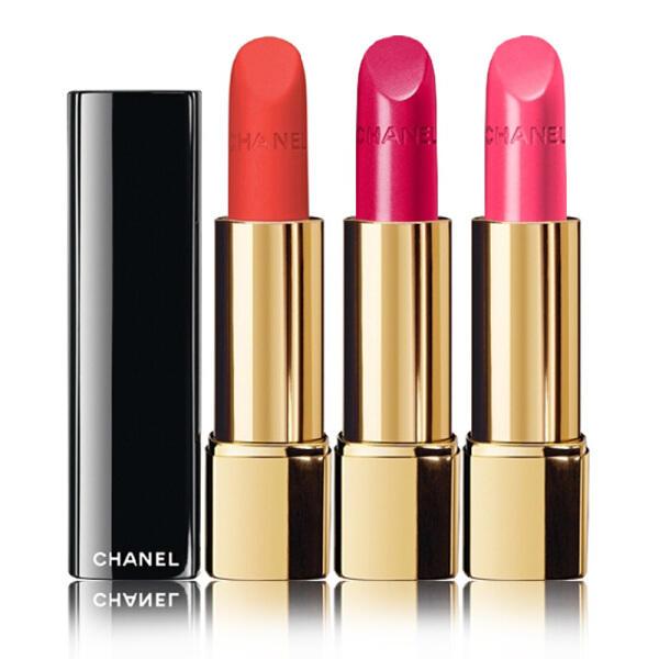 法国CHANEL香奈儿丝绒唇膏口红3.5g #166