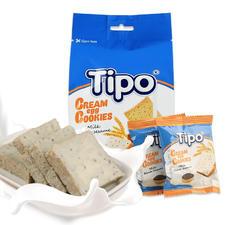 TIPO牛奶芝麻味奶蛋酥面包干135g