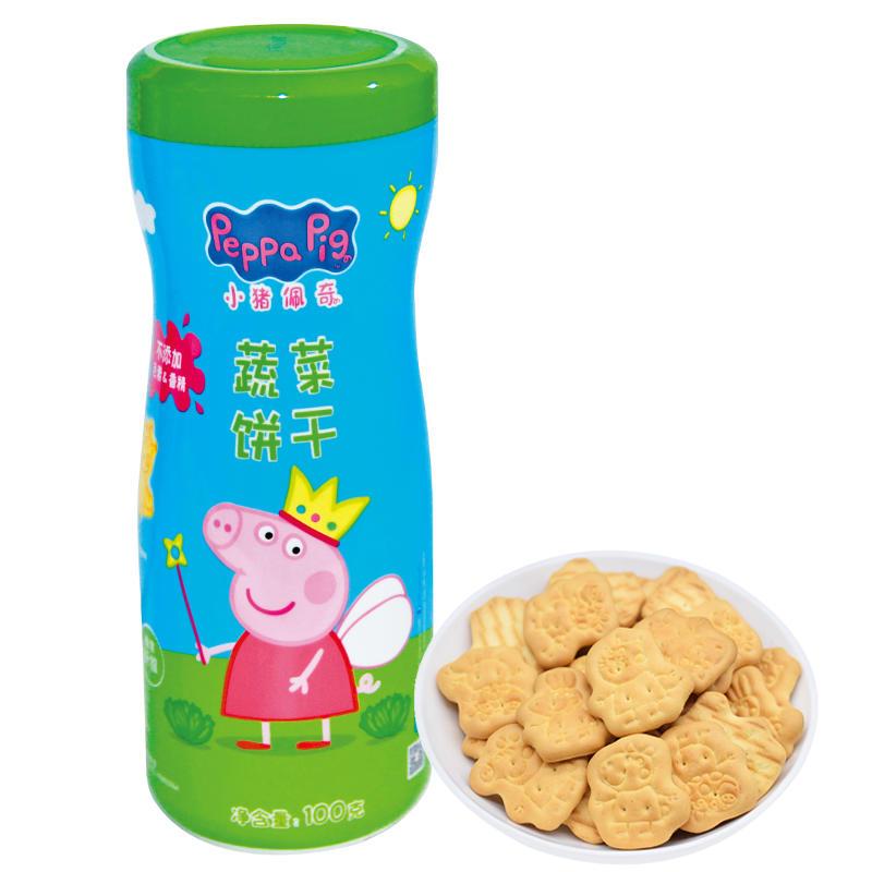 小猪佩奇蔬菜饼干100g