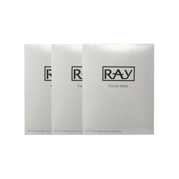泰国RAY妆蕾版 蚕丝面膜 【3盒】*银色