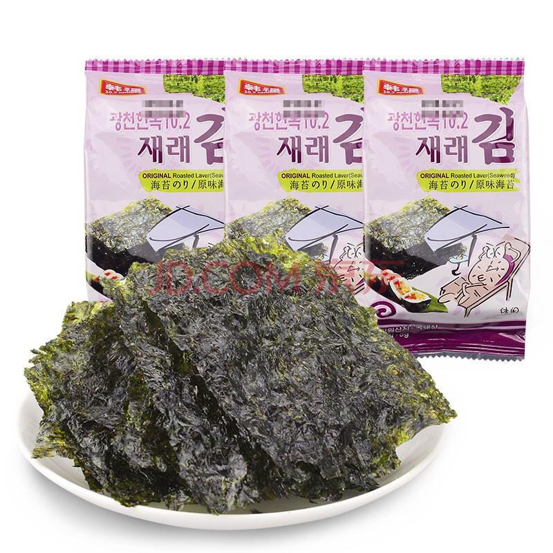 韩国 韩福10.2 海苔(泡菜风味) 13.5g