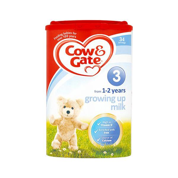英国牛栏3段婴幼儿奶粉1-2周岁宝宝奶粉800g*2罐