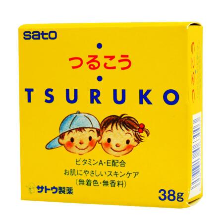 日本SATO佐藤儿童宝宝婴儿面霜38g.