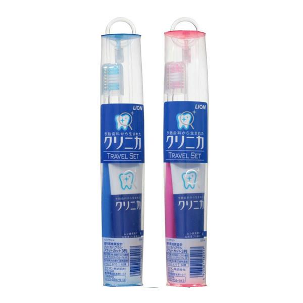 日本狮王旅行套装(酵素牙膏30g+牙龈护理牙刷)