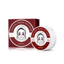 韩国香蒲丽眼膜 淡化细纹去黑眼圈60贴/盒 红色
