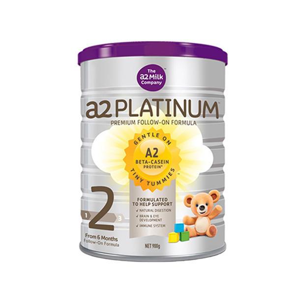 【澳洲直邮】澳洲a2白金系列婴儿奶粉2段900g 6罐