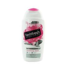 英国Femfresh女性私处洗液蔓越莓粉色盖250ml