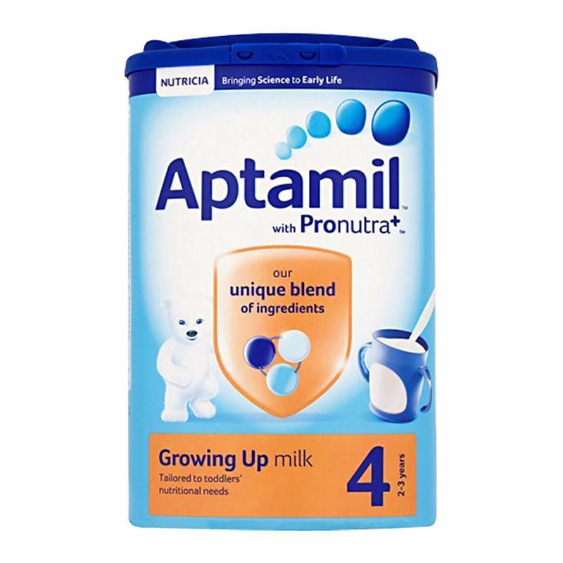 【2罐装】英国爱他美4段奶粉婴幼儿牛奶粉 2-3岁宝宝奶粉800g*2罐(新老包装随机发货)