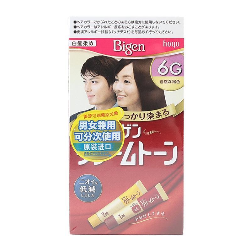 美源可瑞慕染发膏(BCT)自然棕色6G