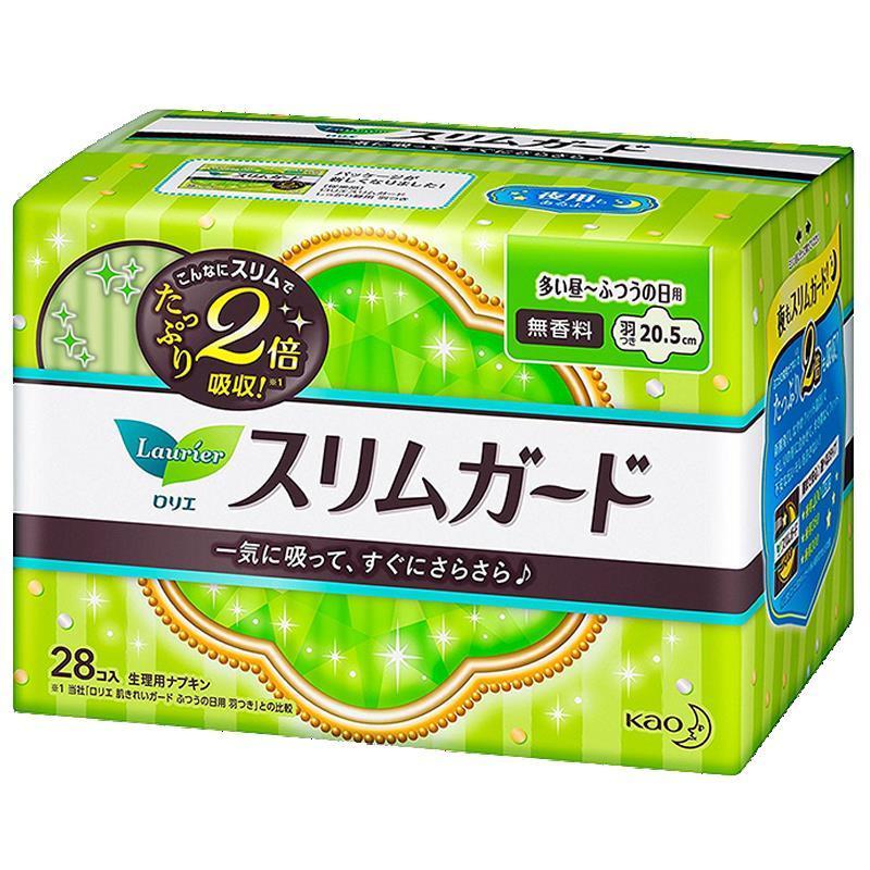 日本花王卫生巾S系列日用20.5cm28片