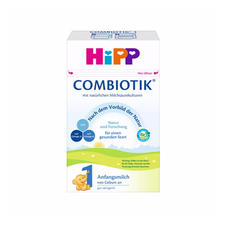 【2罐装】德国Hipp喜宝益生菌幼儿配方奶粉1段  0-6个月宝宝奶粉600g*2盒
