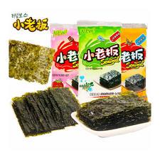中国香港  小老板  延烧海苔16g 烧烤味