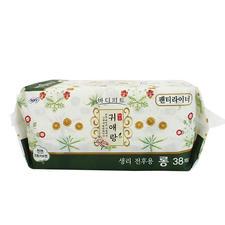 韩国LG贵爱娘加长护垫17.5cm38片
