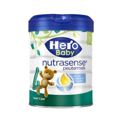【2罐装】荷兰原装Hero Baby白金版奶粉4段 2周岁以上宝宝奶粉700g*2罐