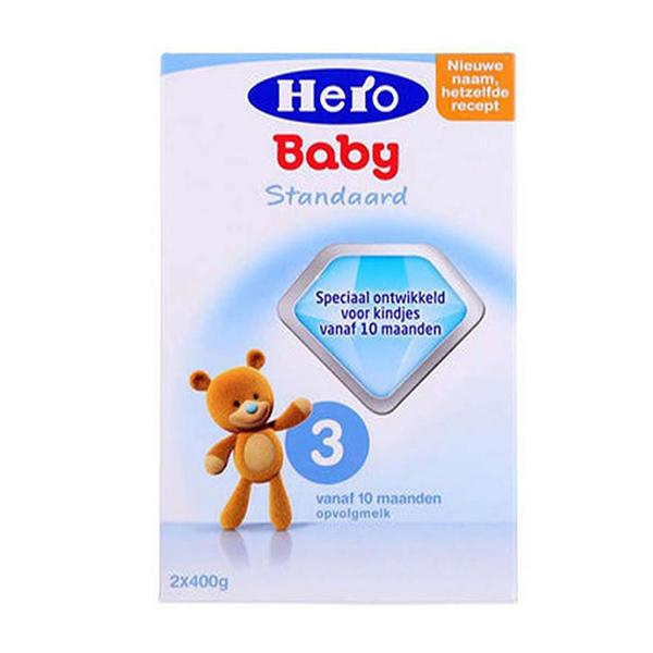 【2罐装】荷兰原装Hero Baby3段 10-12个月宝宝奶粉800g*2盒