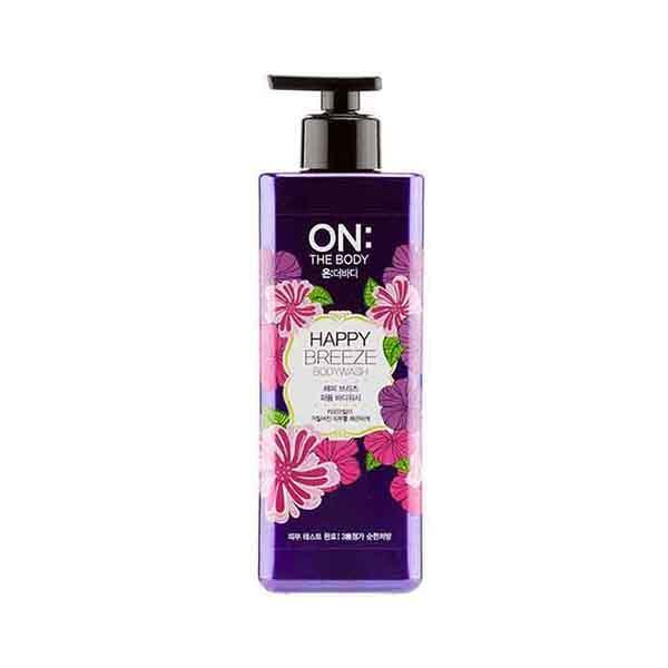 韩国·LG ON:优雅香水沐浴露女士紫色500ml