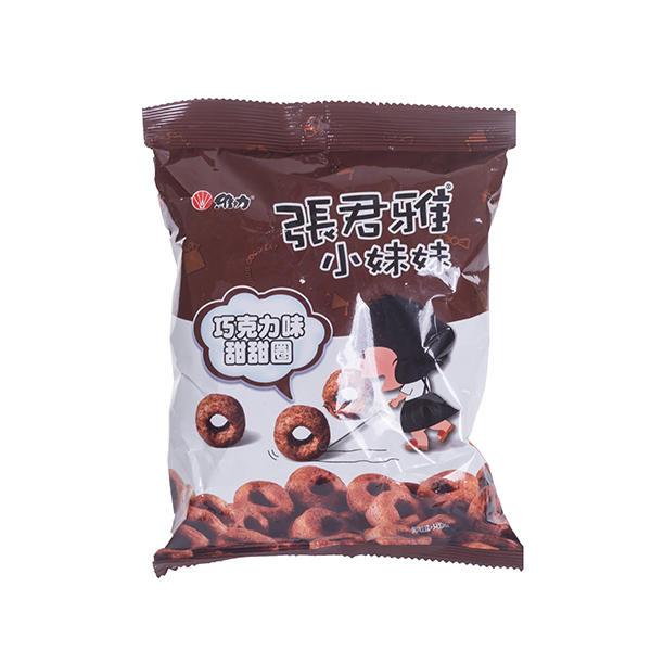 中国台湾张君雅巧克力甜甜圈40g