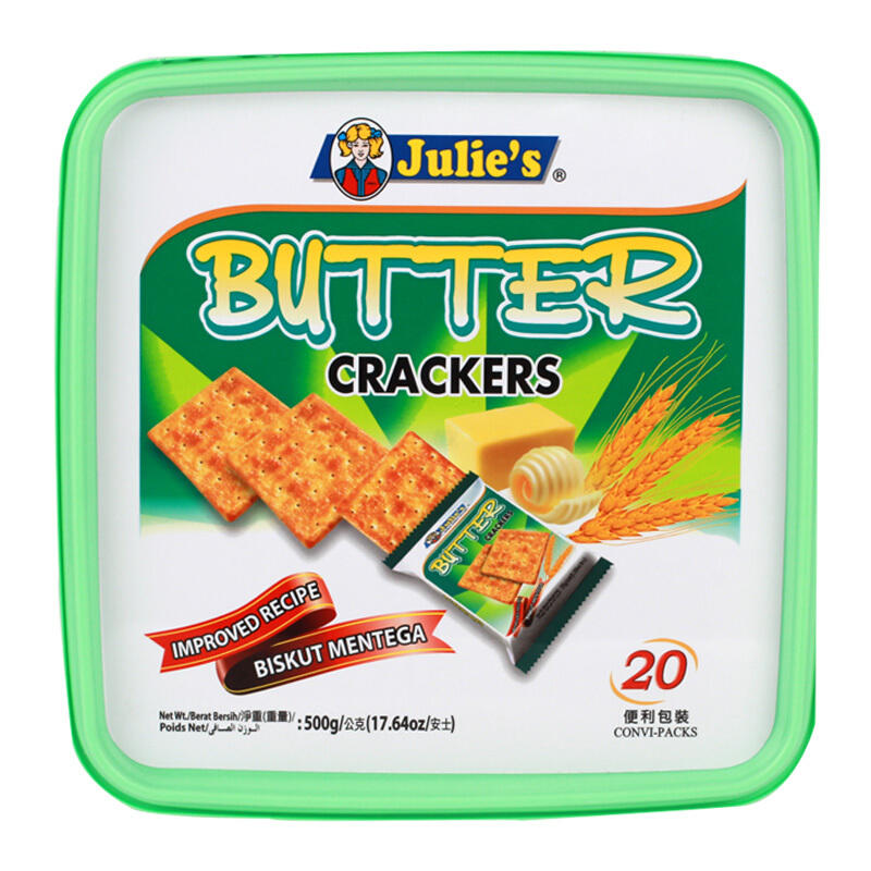 马来西亚茱蒂丝奶油苏打饼干 500g