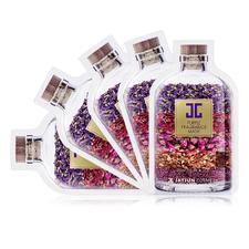 韩国水光面膜香薰花瓣紫色10片/盒