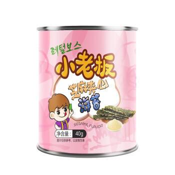 中国 小老板 芝麻夹心海苔 40g