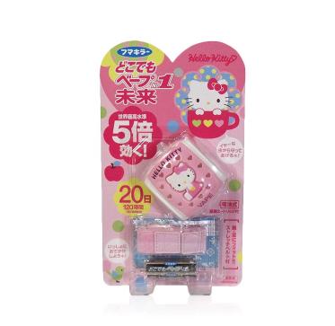 日本 VAPE未来 黄多多同款VAPE 5倍效果 儿童防蚊手环凯蒂猫驱蚊手表