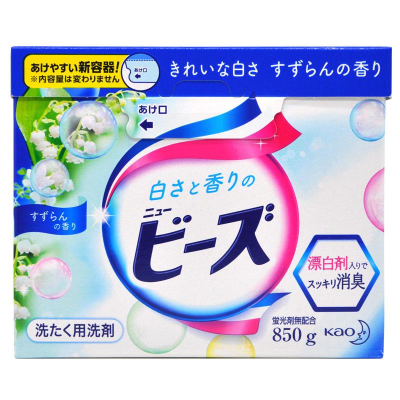 日本花王洗衣粉 铃兰花香800g