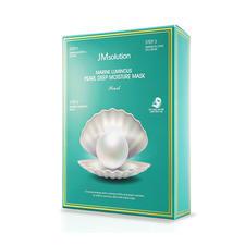 韩国JMsolution珍珠面膜10片/盒 补水 保湿 淡化黑色素