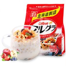 Calbee 卡乐比 富果乐水果麦片 即食麦片500g