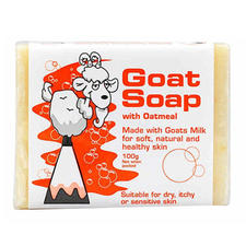 澳洲GoatSoap燕麦精华羊奶皂100g