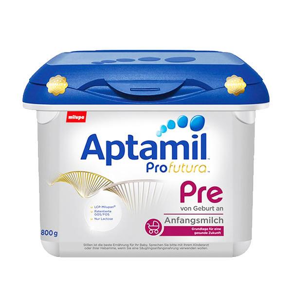 【2罐装】德国Aptamil爱他美白金版奶粉PRE段800g*2罐