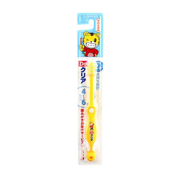 日本盛世达巧虎 儿童护齿牙刷 4-6岁 一支
