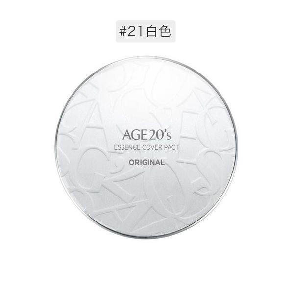 韩国爱敬age 20's水光精华气垫BB粉底水粉霜附替换装 #21象牙白(白色盒)