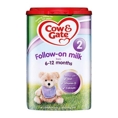 【2罐装】英国牛栏2段婴幼儿奶粉 6-12个月宝宝奶粉800g*2罐(新老包装随机发货)