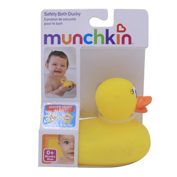 美国Munchkin 麦肯齐洗浴感测温变色小黄鸭